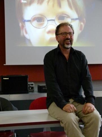 Prof. Dr. Andre Frank Zimpel am 22.09.13 im KuK Markranstädt