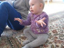 """Baby 10 Monate fragt """"wo?"""""""